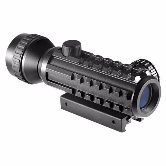 2x30mm Electro Sight Tactical Multi-Rail Rifle Scope by Barska