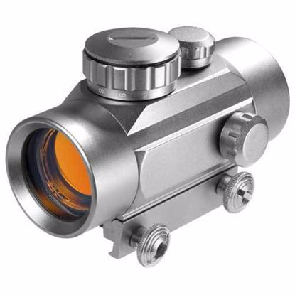 Picture of 1x 30mm Red Dot Scope Silver Finish by Barska