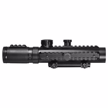 Picture of 1-3x30mm IR Sight, Green Laser, Light Ultimate Combo By Barska
