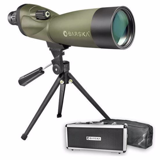 20-60x60mm WP Blackhawk Spotting Scope Straight By Barska