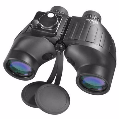 Picture of 7x50mm WP Battalion Range Finding Reticle w/ Compass Binoculars by Barska