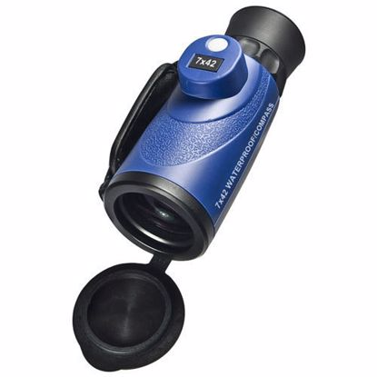 Picture of 7x42mm WP Deep Sea Range Finding Reticle Compass Monocular