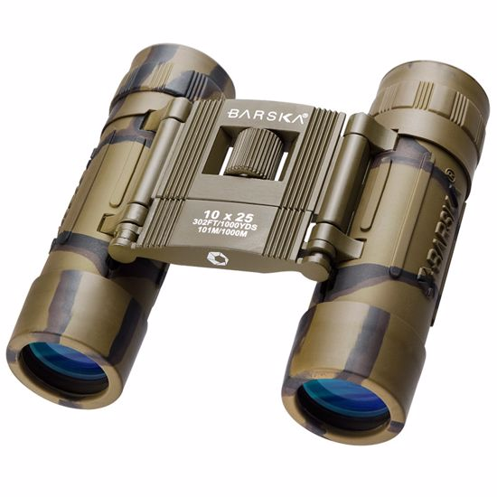10x25mm Lucid View Compact Camo Binoculars by Barska