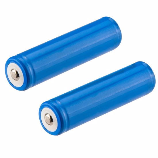Picture of 18650 3.7V Li-Ion Rechargeable Batteries (2 Pieces)