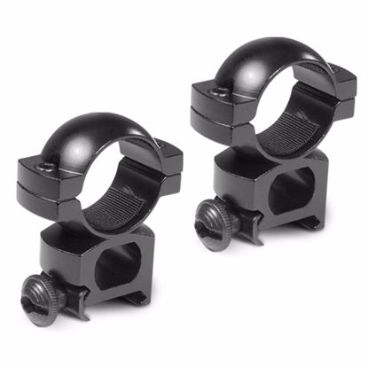 """Picture of 1"""" High w/Peep Sight Weaver Style Rings"""