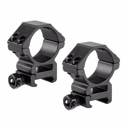 Picture of Medium 30mm Weaver Style HQ Rings by Barska