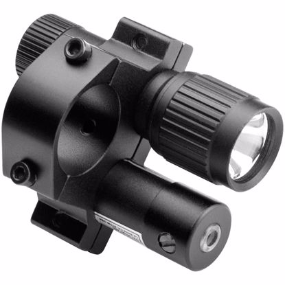 Picture of Tactical Red Laser Sight w/ Flashlight and Mount By Barska