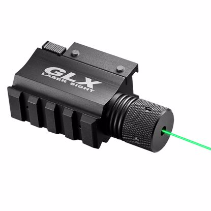 Picture of GLX Green Laser w/Built-In Mount & Rail by Barska