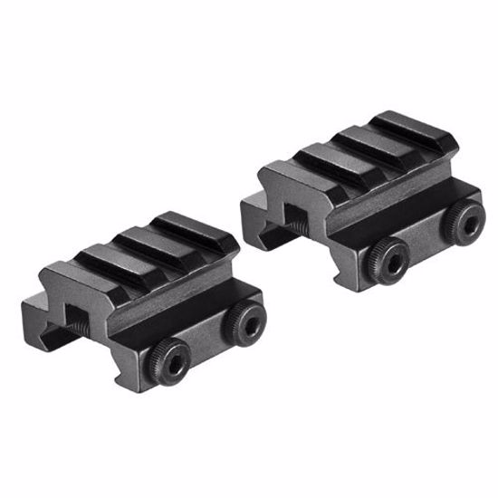 Set of Picatinny Style Mounts with Rail by Barska