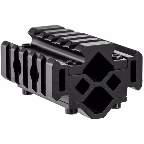 Double Rifle Barrel Mount - Tri-Rail - 5 Sections