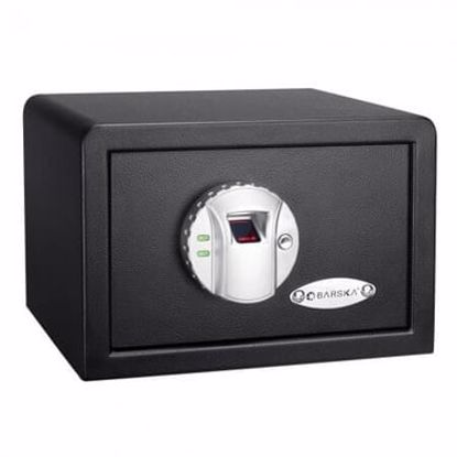 Picture of Compact Biometric Security Safe with Fingerprint Lock
