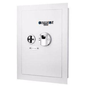 Picture of White Biometric Wall Safe