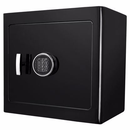Picture of Black Keypad Jewelry Safe Black Interior