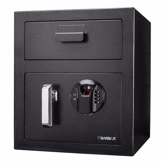 Biometric Keypad Depository Safe