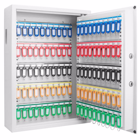 100 Key Cabinet Digital Wall Safe