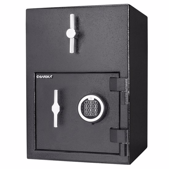 Standard Rotary Hopper Depository Safe with Digital Keypad, 1.15 Cubic Ft