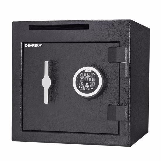 Digital Keypad Slot Depository Safe, 1.12 Cu Ft.