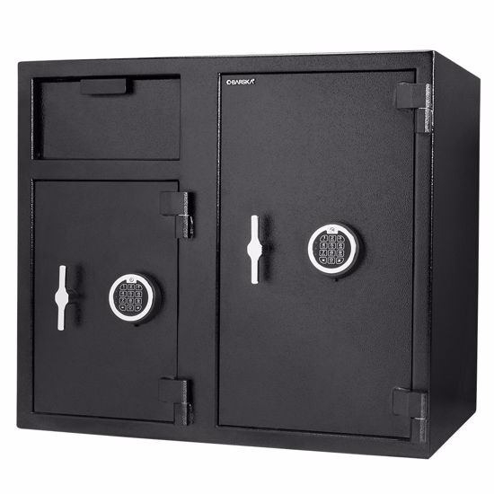 Picture of Large Two Lock Depository Safe with Digital Keypad, 2.58/4.68 Cubic Ft