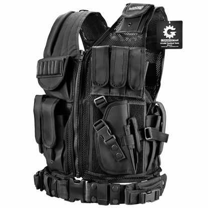 Picture of Loaded Gear Tactical Vest VX-200 (Black) Right Hand