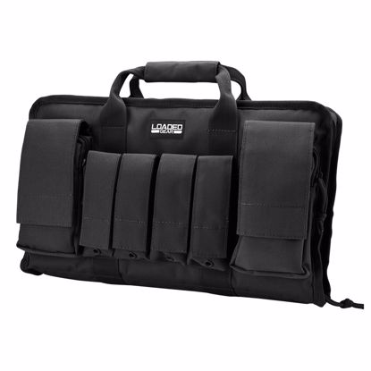 "Picture of Loaded Gear RX-50 16"" Tactical Pistol Bag (Black)"