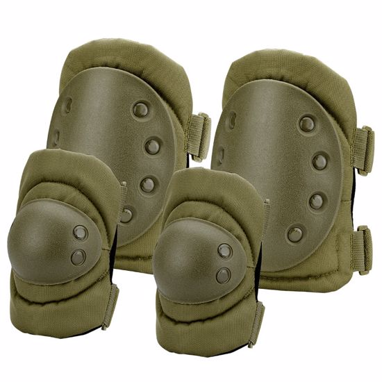 Loaded Gear CX-400 Elbow and Knee Pads (OD Green) By Barska