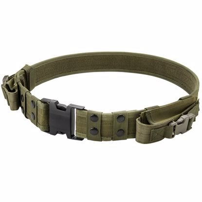 Picture of Loaded Gear CX-600 Tactical Belt (OD Green) By Barska