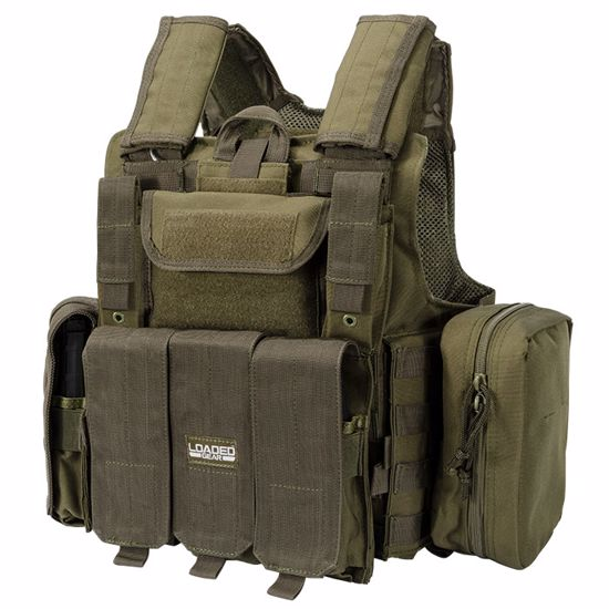 Picture of Loaded Gear Tactical Vest VX-300 (OD Green)
