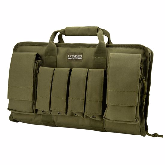 "Loaded Gear RX-50 16"" Tactical Pistol Bag (OD Green)"