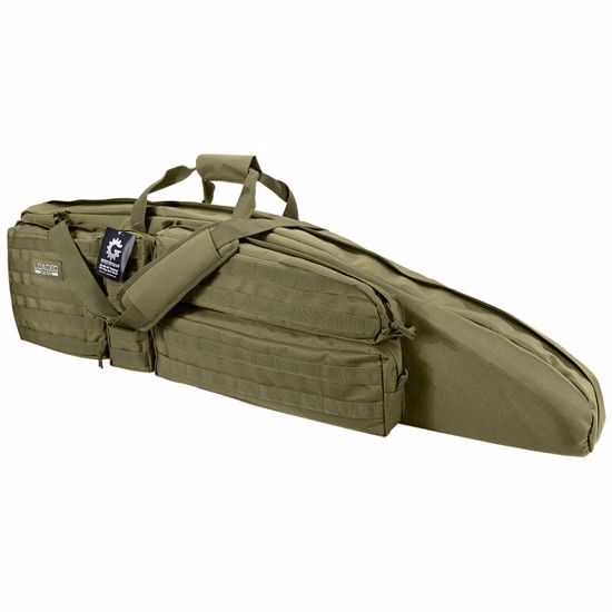 "Picture of Loaded Gear RX-400 48"" Tactical Rifle Bag (OD Green)"