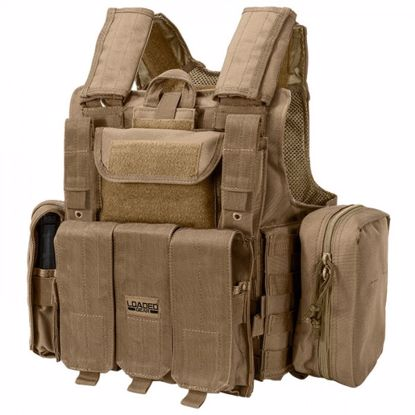 Picture of Loaded Gear Tactical Vest VX-300 (Dark Earth)