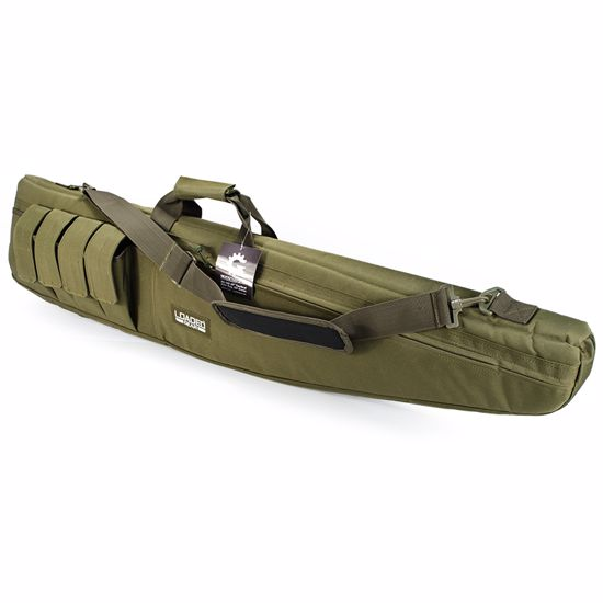 "Picture of Loaded Gear RX-100 48"" Tactical Rifle Bag (OD Green)"