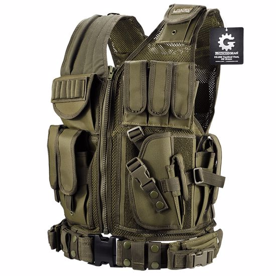 Loaded Gear Tactical Vest VX-200 (OD Green)