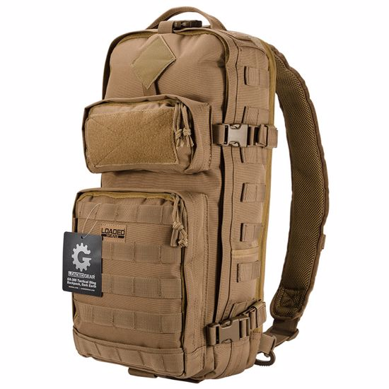 Loaded Gear GX-300 Tactical Sling Backpack (Dark Earth)