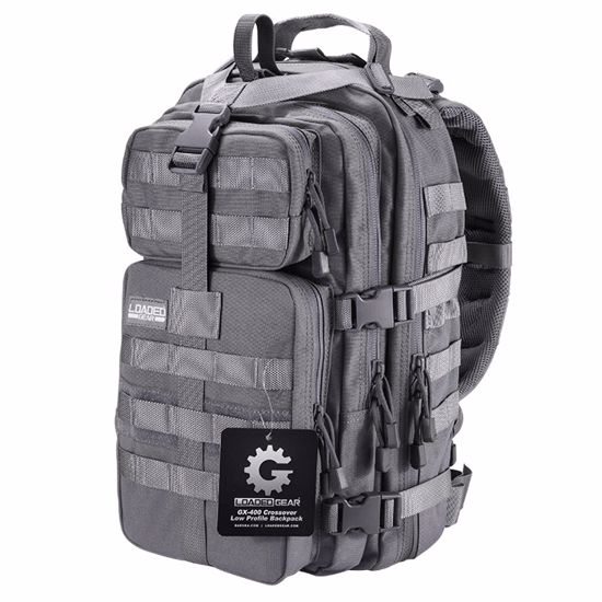 Loaded Gear GX-400 Crossover Tactical Backpack (Gray)