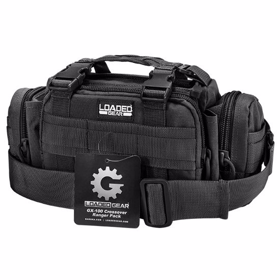 Loaded Gear GX-100 Crossover Ranger Pack (Black)