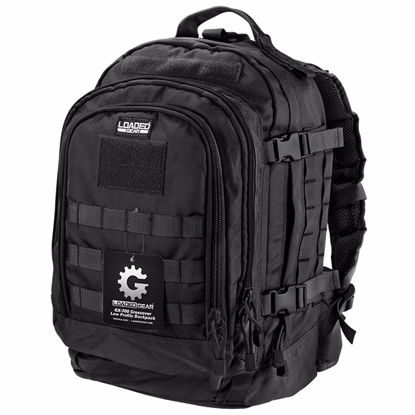 Picture of Loaded Gear GX-500 Crossover Tactical Backpack (Black)