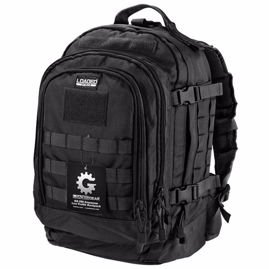 Loaded Gear GX-500 Crossover Tactical Backpack (Black)