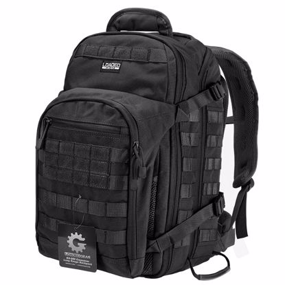 Picture of Loaded Gear GX-600 Crossover Tactical Backpack (Black)