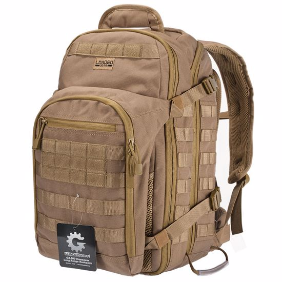 Picture of Loaded Gear GX-600 Crossover Tactical Backpack (Dark Earth)