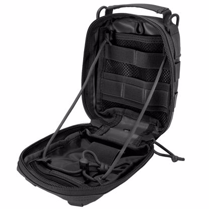 Picture of Loaded Gear CX-900 First Aid Utility Pouch (Black) By Barska