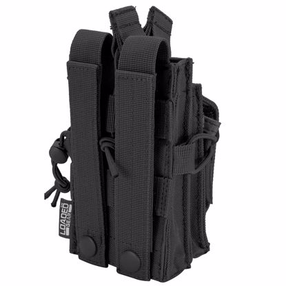 Picture of Loaded Gear CX-950 Dual Stacked Rifle and Handgun Mag Pouch (Black)