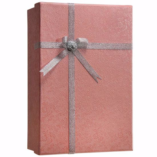 Gift Box Lock Box with Key Lock by Barska (Pink)