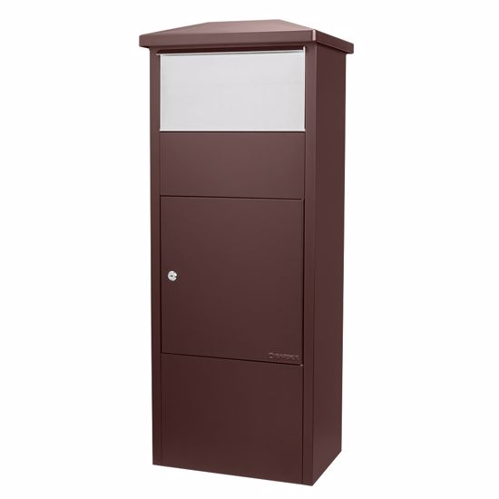 MPB-500 Parcel Box, Brown