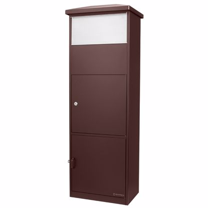 Picture of MPB-600 Brown Parcel Box with Package Compartment