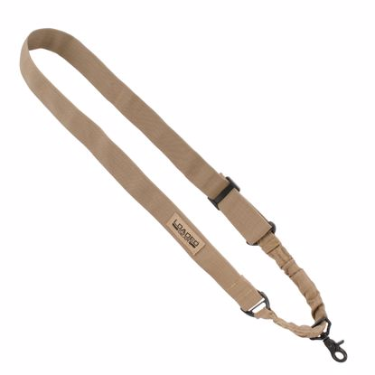 Picture of Loaded Gear CX-100 Tan Tactical Single Point Rifle Sling By Barska