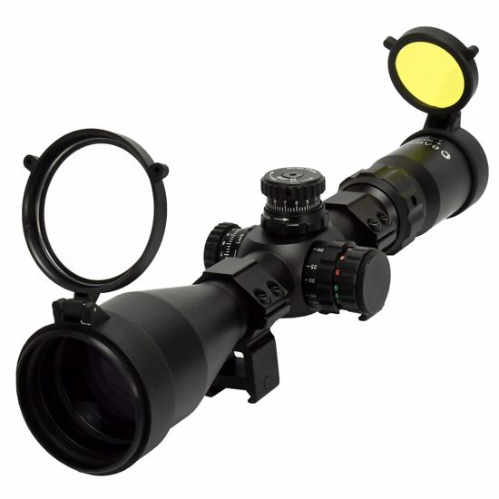 Picture of 4-16x 50mm IR Tactical Scope with First Focal Plane Trace MOA Reticle