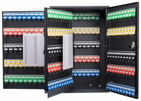 Picture of 300 Position Adjustable Key Cabinet with Combo Lock