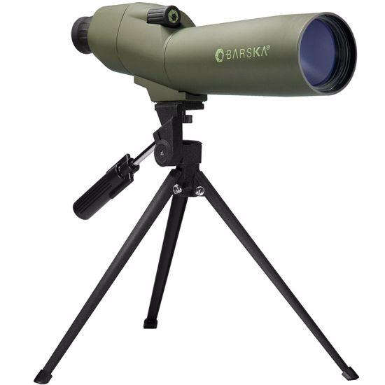 20-60x60mm WP Colorado Spotting Scope Straight Green By Barska
