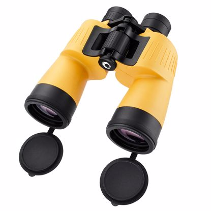 Picture of 7x 50mm WP Yellow Floatmaster Floating Binoculars