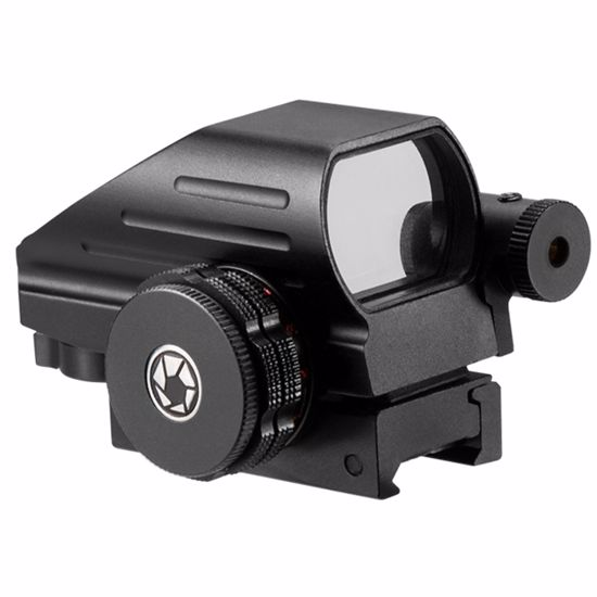 Picture of 1x Multi Reticle Electro Sight with 5mW Red Laser Sight